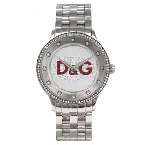 Women Watch Dolce and Gabbana DW0144 Prime Time Stainless Steel Prime Time White