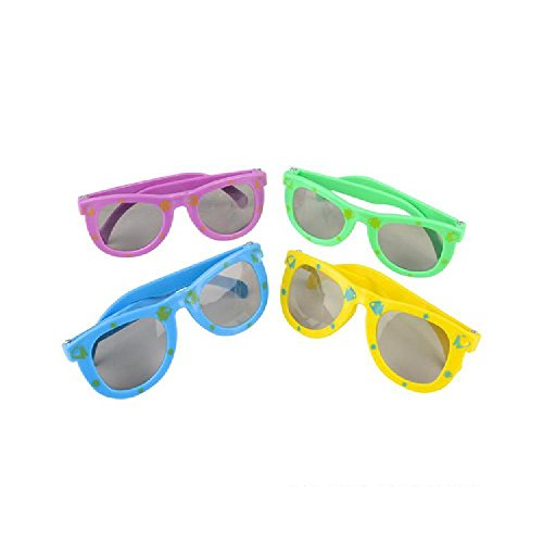 Fish Print Kiddie Toy Sunglasses (With Sticky - With Sunglasses Fish
