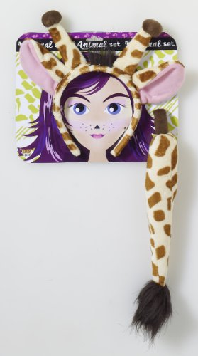 Forum Novelties Playful Animals Giraffe Costume Accessory Set, Multi, One (Halloween Costumes Giraffe)