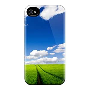 Defender Case With Nice Appearance (country Road) For Iphone 4/4s
