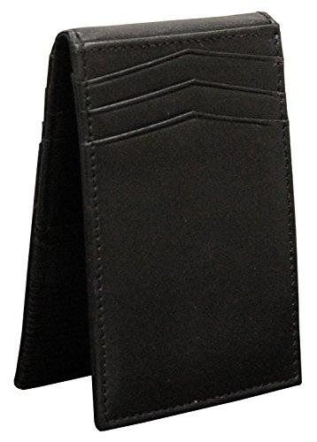 Winn Leather Slim ID Wallet - Black Winn Slim Wallet
