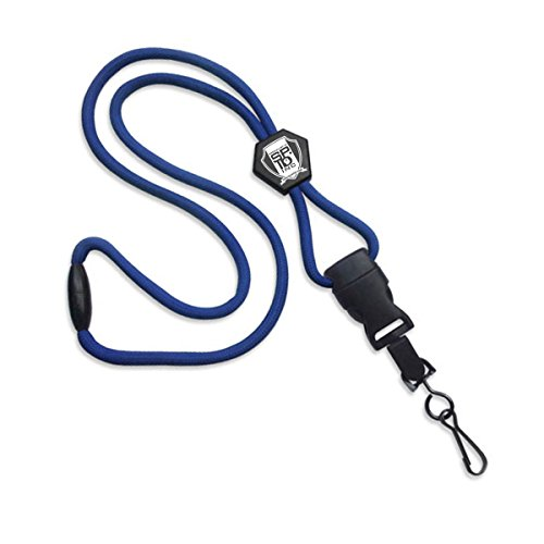Royal Blue ULTIMATE Breakaway Lanyard. Ideal For Holding ID Cards/Keys/Badge Reels by Specialist ID, Sold Individually