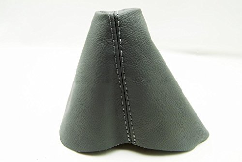 Fits 1998-2010 Volkswagen Beetle Synthetic Gray Leather Manual Shift Boot . (Vinyl Part Only)