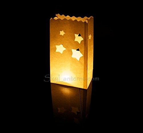 Bolsas decorativas para velas, Linternas de papel bolsas ...