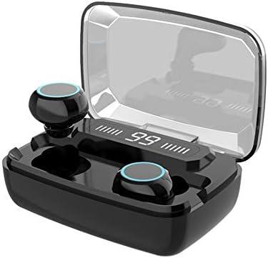 Tidyard koptelefoon M11 LED koptelefoon BT5.0 Display Digtal Wireless Touch Control met microfoon sport hoofdtelefoon waterdicht