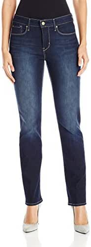 Signature by Levi Strauss & Co Women's Totally Shaping Slim-Straight Jean