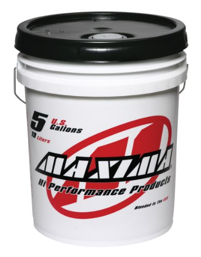 Maxima (50-57505) Medium Grade 3WT Synthetic Racing Shock Fluid - 5 Gallon Pail by Maxima