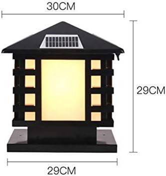 Luz solar del poste, luz/lámpara impermeables al aire libre de la ...