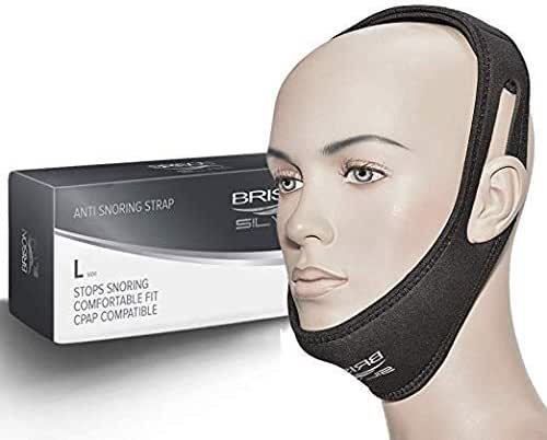 Chin Strap Adjustable Comfortable Natural Straps Advanced Solution Anti Snore Device for Man Woman Kids