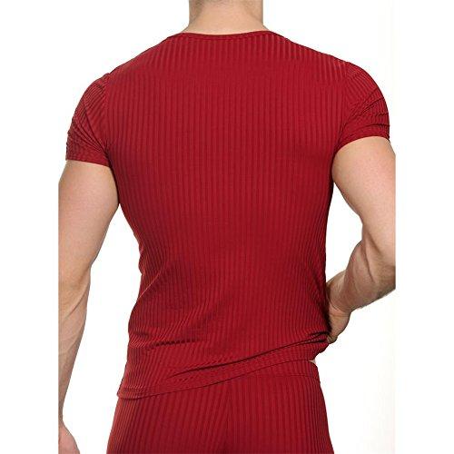 Bruno Banani Shirt Anti Stress Rubinrot 2203-1760/253