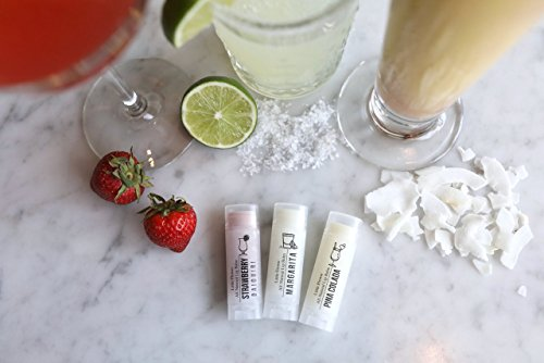HAPPY HOUR Cocktail Lip Balms - Set of 3 Funny gift for mothers day by The Little Flower Soap Co