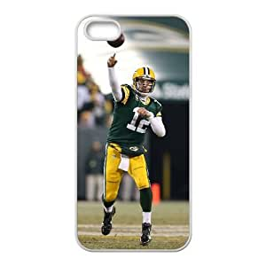 Aaron Rodgers iPhone 4 4s Cell Phone Case White yyfabc-335694