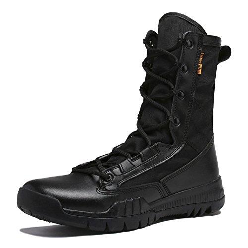 Uomo top Trekking Scarpe Black High Boots Arrampicata Sneakers Leggero Tactical Asjunq Da Army wtOaZ