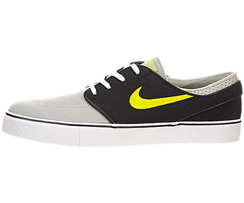 Nike Zoom Stefan Janoski Canvas Grey, Black, Green Skate Shoes