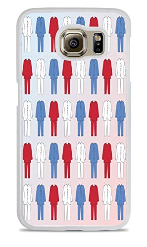 Pantsuit Nation Hillary 2016 White Silicone Case for Samsung Galaxy S7 by Debbie's Designs