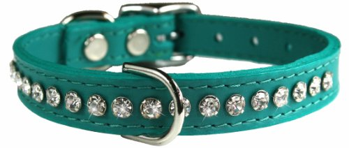 OmniPet Signature Leather Crystal Collar product image