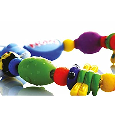 Nuby Bug-A-Loop Teether, Colors May Vary : Baby Teether Toys : Baby