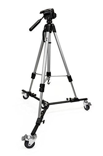 Opteka M3 Professional Heavy Duty Folding Tripod Dolly with