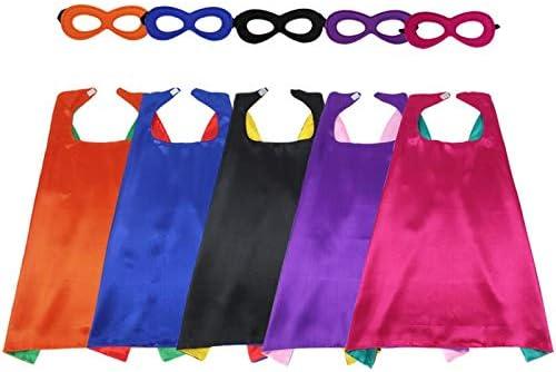 iROLEWIN Disfraz de superhéroe para niñas Capas y máscaras para ...