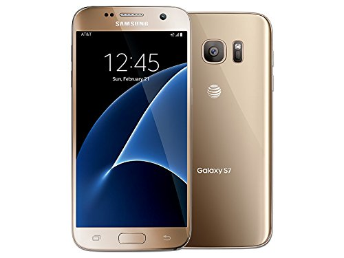 Samsung Galaxy S7 G930A 32GB AT&T GSM 4G LTE Smartphone - Gold - Knox At Shops
