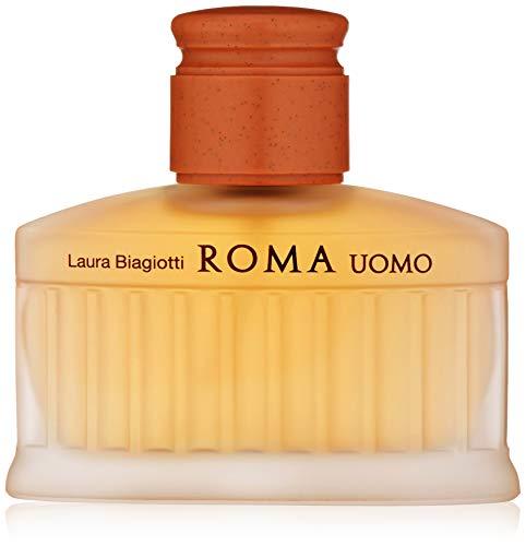 Laura Biagiotti Roma Uomo Eau de Toilette for Men, 2.5 fl. oz.
