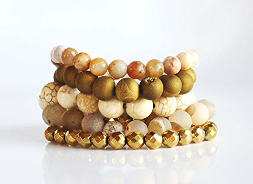 the-golden-goddess-set-is-a-combination-of-5-elastic-gemstone-bracelets-