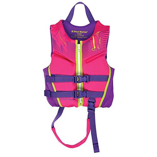 人気商品 West MarineデラックスKids ' Rapid Dryライフジャケット、子30 – – Rapid 50lb West、ピンク B07DGNPTD9, ながのけん:c0f6339b --- a0267596.xsph.ru