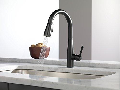 Delta Faucet 9113-BL-DST Essa Single Handle Pull-Down Kitchen Faucet