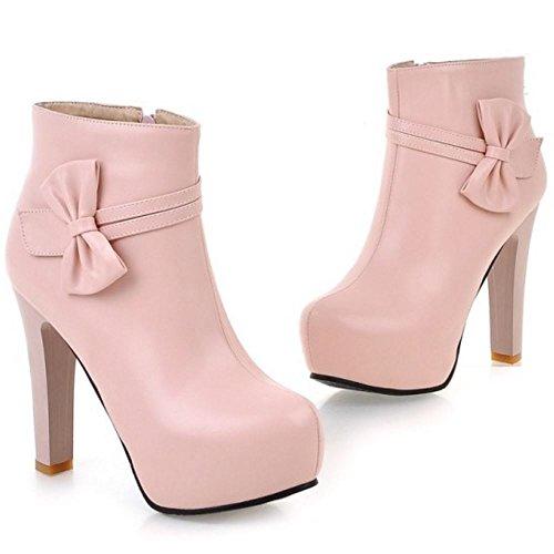 Bottes Bottines Chaussures Femmes Zanpa Plateforme Bowknot w1OvUnPqz