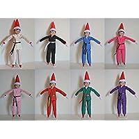 "Handmade Doll Clothes Karate UNIFORM ONLY Gi Judo TKD fit 11.5"" The Elf Soft Doll Christmas"