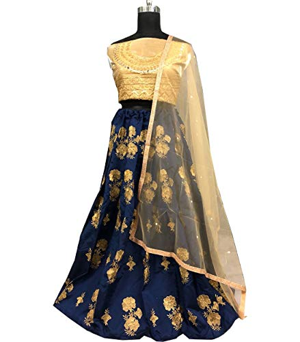 Amit Para Choli Diseño Stitch Lehenga Fashions Mujeres De Exclusiva Semi Indio SqBFSr