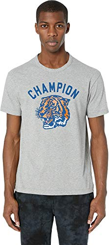 Todd Snyder Men's Champion Tiger Back Graphic Light Grey Mix X-Large ()