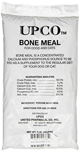 Upco Bone Meal Steamed Bag Supplement, 1-Pound