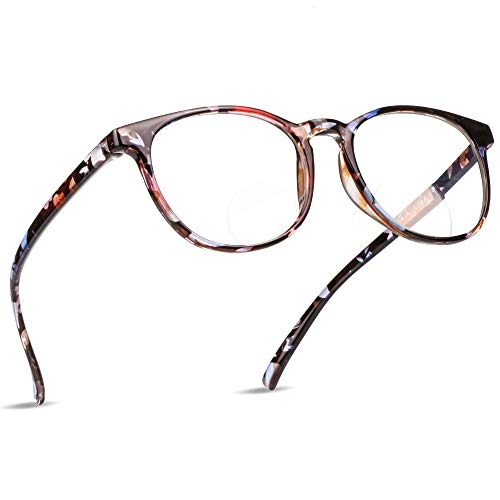 f1c7a825ec9f LifeArt Bifocal Reading Glasses with Invisible Round Lenses