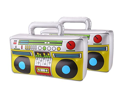 DECORA 16 inch Inflatable Boombox for Party Decoration,
