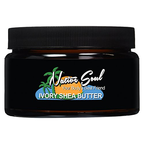 (Native Soul Raw Ivory Shea Butter Unscented (8oz))