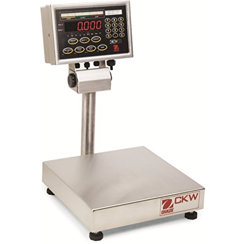 [Ohaus CKW Stainless Steel NTEP Certified Washdown Checkweighing Scale, 30kg x 5g] (Washdown Checkweighing Scale)