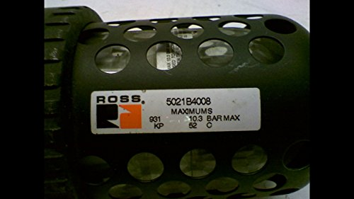 Ross Controls 5021B4008 Full-Size Series Filter, Auto Drain, Polycarbonate Bowl, 5 µm Polyethylene Filter, No Gauge, Threaded Ports 1/2'' NPT by ROSS CONTROLS (Image #2)