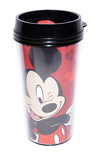 Disney Mickey Mouse 16Oz Double Walled Travel Tumbler