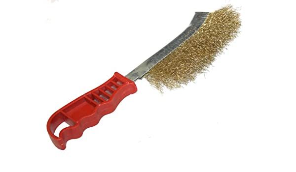 Cepillo met/álico para enarenamiento oxida el retiro Longitud total 23cm C1223 AERZETIX