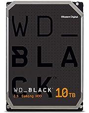"""WD_BLACK 10TB prestatie 3,5"""" interne harde schijf - 7200RPM-klasse, SATA 6Gb/s, 256MB Cache"""