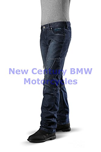 BMW Genuine Motorcycle Women City Denim Riding Pants Denim US 12 Euro 42