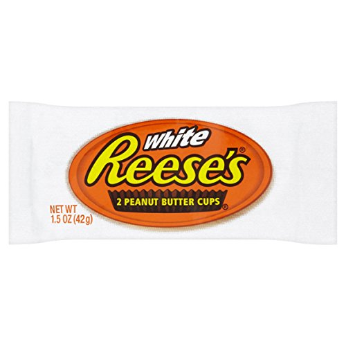 REESE'S White Creme Peanut Butter Cups, 24 Count - 1.5 oz