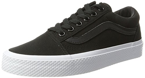 Vans Unisex Old Skool Classic Skate Shoes Waffle Wall Black True White under $60 sale online sale shop offer cheap sale with paypal buy cheap deals QmJsMMB