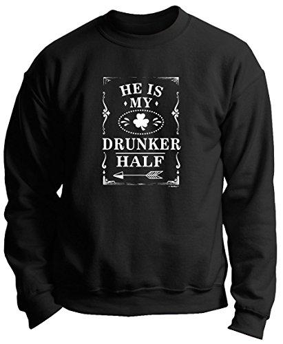 Drunker Couples Patricks Crewneck Sweatshirt