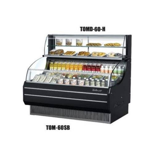 (TOMD60H 63 Non Refrigerated Top Case for Open Display Merchandiser: Slim Line White)