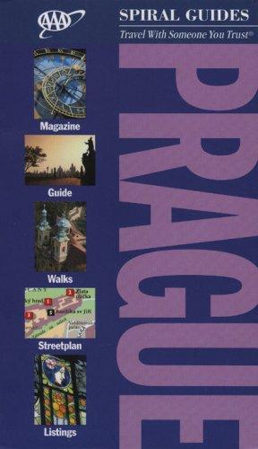 AAA Spiral Prague (AAA Spiral Guides: Prague) -
