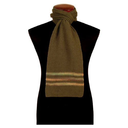 Alpaca Scarf Hand Knit Fair Trade Alpaca Wool Scarf