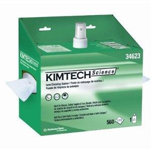Kimt Science Lens Clng Station Whi 8Oz 4/560
