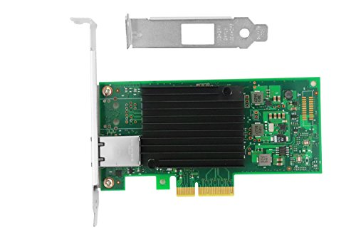 Vogzone for Intel X550-T1 10GbE Converged Network Adapter(NIC/CNA) Single Copper RJ45 Port Intel ELX550AT Controller X550 Chipset PCI-E X4